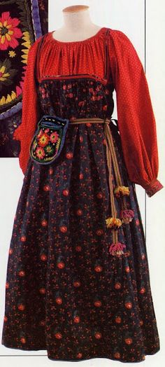 5 types of Russian folk costume