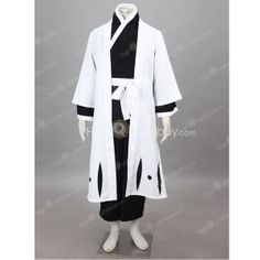 BLEACH 1st Division Captain Yama Moto Gen Ryu Sai Shige Kuni 3rd Dynasty Uniform Cosplay Costume $60.99