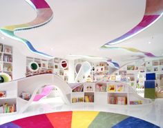 What a beautiful and inspiring book store for kids! Kid's Republic Book Store in Beijing, China
