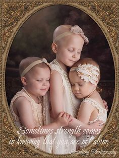So beautiful! May God heal your tiny precious bodies Riley, Rheanne and Ainsley! Beautiful!!