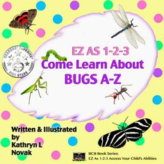 """Books Direct: """"EZ as 1-2-3: Come Learn About Bugs A-Z"""" by Kathryn L. Novak - REVIEW plus FREE 17-18 May"""