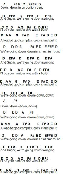Flute Sheet Music: Fall Out Boy