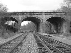 Train Bridge--photo by Nina