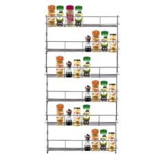 Chrome Spice Rack | Neo Direct