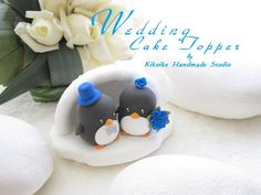 Penguins wedding cake toppers.. no way... wow there is simply everything you could ever want..