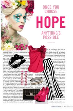 """Anything's Possible"" by karen-keathley ❤ liked on Polyvore"