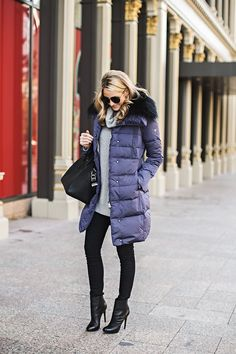 Prove puffer coats can be stylish - 20 outfits that prove it.