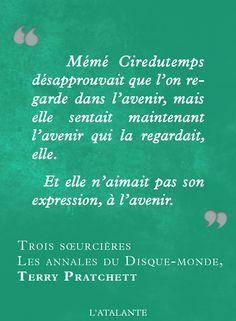 Trois sœurcières, Les Annales du Disque-monde de Terry Pratchett