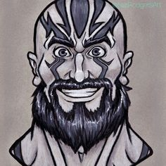 @thatNatRodgers posted to Instagram: I miss this exuberant goofy rage-man. Grog is still one of my faves, and I think he's one of the most fun to draw. Old art, but still one of my best CR portraits #cr #traviswillingham #CriticalRole #criticalrolefanart #myart #voxmachina Liam O Brien, Laura Bailey, Ashley Johnson, Great Grey Owl, Vox Machina, Critical Role Fan Art, Toned Paper, Gray Owl, Old Art