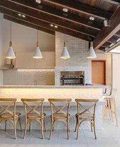 Farmhouse patio apartment 40 Ideas for 2019 Interior Decorating, Interior Design, Home Renovation, Kitchen Design, Sweet Home, New Homes, House Design, Patio, Dining