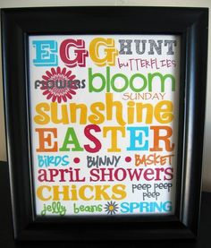Pinteresting Tuesday: 10 Easter Subway Art Printables!  {www.ReMarkableHome.net}