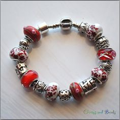 European Style Fashion  Beads  Bracelet di CHARMSandBEADSsol, $16.90