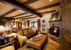 interior living room - Spanish