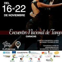 Encuentro Nacional de Tango en Caracas