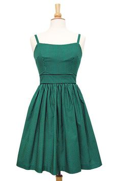 Sweet William dress- houndstooth - Swonderful Boutique