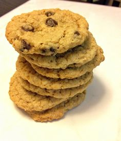 The best Oatmeal Chocolate Chip Cookies Favorite Cookie Recipe, Best Oatmeal, Oatmeal Chocolate Chip Cookies, I Foods, Cookie Recipes, Baking, Eat, Desserts, Blog