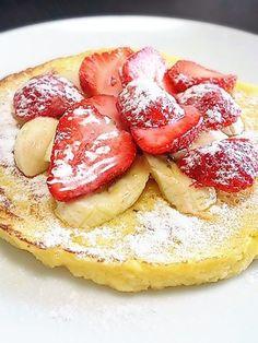 朝食にもぴったりなスイーツ!パン粉で作る「フレンチトースト風しっとりパンケーキ」の作り方 | nanapi [ナナピ]