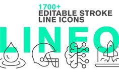 LINEO - 1700 fully editable icons by sharpnose on Vector Icons, Vector Graphics, Info Graphics, Vector Clipart, Vectors, Law And Justice, Hotel Services, Construction Tools, Writing Art