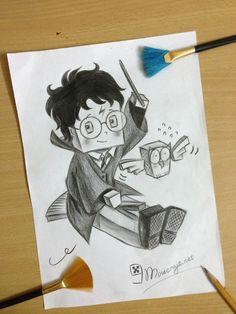 Potter, Geek Art, Female Sketch, Drawings, Harry Potter Fan Art, Art, Fan Art
