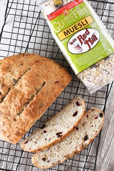 Hearty, delicious gluten free bread from @SarahBakesGFree that is made with our Gluten Free Muesli for a load that is studded with seeds, dried fruit and oats
