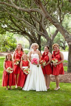 Bridesmaids in Lula Kate|DeBordieu Club Wedding| Photo by: carmenash.com