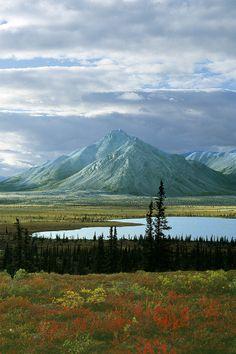 Sheenjek River Valley, Arctic National Wildlife Refuge (ANWR), Alaska | John Hurst on flickr