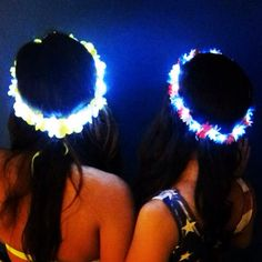 Light Up LED Flower Crown for Festivals $29.99 @Heather Creswell Creswell Creswell Creswell Whitaker WE NEED THESE