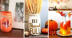 30 DIY Thanksgiving Decoration Ideas To Setup A Fall-Inspired Home – Cute DIY Projects