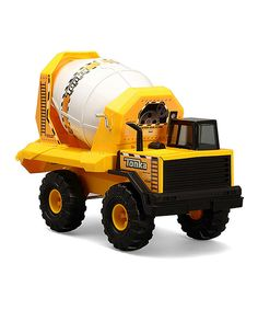 Look what I found on #zulily! Tonka Classic Steel Cement Mixer by Funrise #zulilyfinds