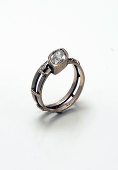 Untitled Ring by jewelry artist Tim Lazure