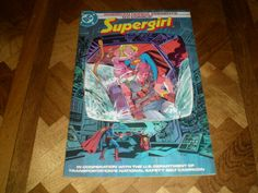 Supergirl Giveaway Honda Special 1 (1984),  Safety belt campaign issue, DC…