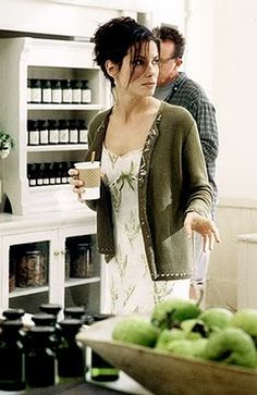 Practical Magic ~ Sally in her shop, Verbena Botanicals