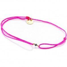 Bracelet fil 1 diamant noir - Senzou - The Gift Shop
