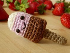 Free crochet pattern ice cream I would like to turn this into a rattle