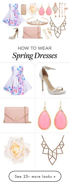 """""""Spring with Louis Tomlinson"""" by hey-its-cake on Polyvore featuring Tory Burch, MICHAEL Michael Kors, Monsoon, Chicnova Fashion, Kate Spade, Anne Klein, Forever 21 and Accessorize"""