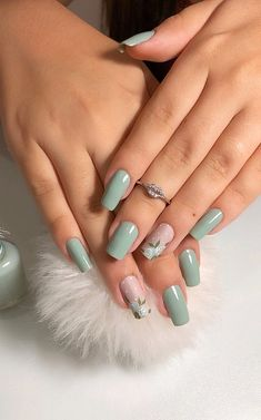 101 Want to see new nail art? These nail designs are really great. - Page 77 of 101 - Womens ideas Matte Acrylic Nails, Almond Acrylic Nails, Almond Nails, Acrylic Nail Designs, Aycrlic Nails, Coffin Nails, Cute Nails, New Nail Art, Cool Nail Art