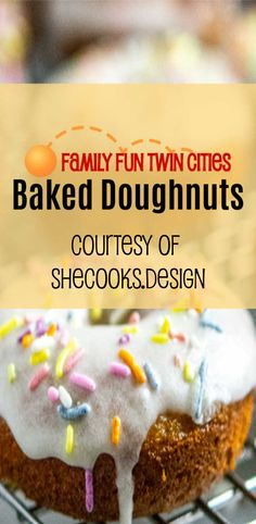Bake doughnuts for a healthier alternative to deep fried donuts.  You won't even miss the ones you get at the fair.