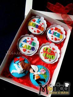 Cupcakes Amor Novio 49 Ideas For 2019 Fondant Cupcakes, Cupcake Frosting, Fun Cupcakes, Wedding Cupcakes, Birthday Cupcakes, Cupcake Cookies, Cupcake Amor, Cupcakes Design, Cake Pops