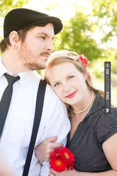 Fantastic! - Retro engagement shoot  //  joleen willis photography   CHECK OUT MORE GREAT RED WEDDING IDEAS AT WEDDINGPINS.NET   #weddings #wedding #red #redwedding #thecolorred #events #forweddings #ilovered #purple #fire #bright #hot #love #romance #valentines