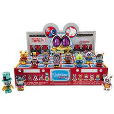 Vinylmation Robots Series 3 Series Tray   Vinyl Figures   Disney Store   $310.80