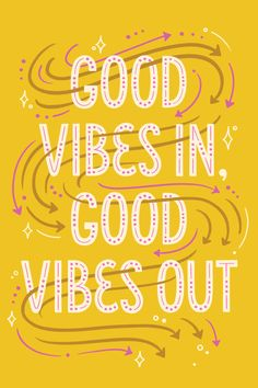 Good Vibes hand lettering by Katie Made That Hand Lettering Quotes, Types Of Lettering, Typography Letters, Lettering Design, Typography Poster, Words Quotes, Wise Words, Me Quotes, Sayings