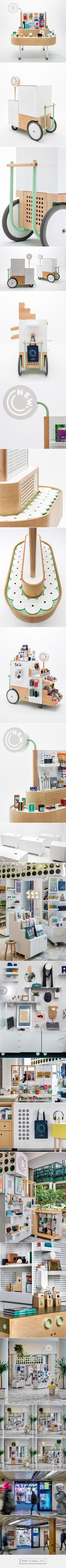 UM Project x The New Stand: Redefining Retail - Design Milk - created via https://pinthemall.net