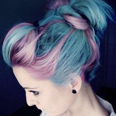 """I am in love with these colours!✌️✨tag us to be featured #inspirehairstyles"""