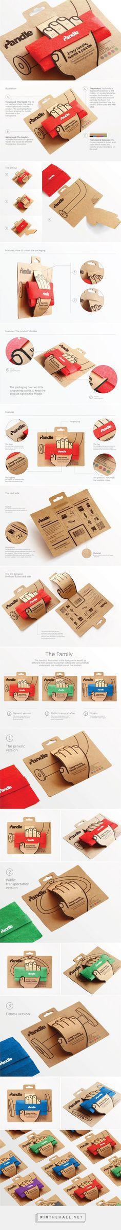 Pandle grip packaging designed by Hani Douaji - http://www.packagingoftheworld.com/2015/11/pandle-repackaging.html
