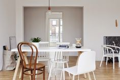Sarah from Coco Lapine styled this Berlin apartment.