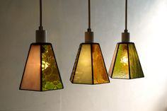 ステンドグラシアス — ステンドグラスのランプ。 ご新居のキッチンカウンター用に。 岡山県 #105
