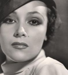 Dolores Del Rio in the 1930's  #spanish #classicactress #vintagestyle