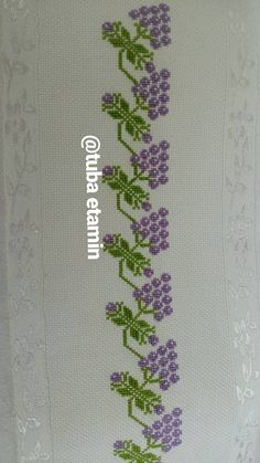 Cross Stitch Borders, Cross Stitch Patterns, Cross Stitch Embroidery, Hand Embroidery, Yarn Crafts, Diy And Crafts, Cross Stitch Silhouette, Purple Wine, Crochet Hats