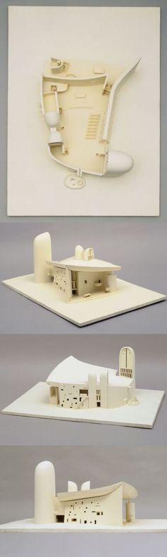 MoMA | The Collection | Le Corbusier (Charles-Édouard Jeanneret). Chapelle Notre-Dame-du-Haut, Ronchamp 1950–55. 1950–1955: