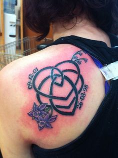 celtic symbol for motherhood with dates | Inked Weddings